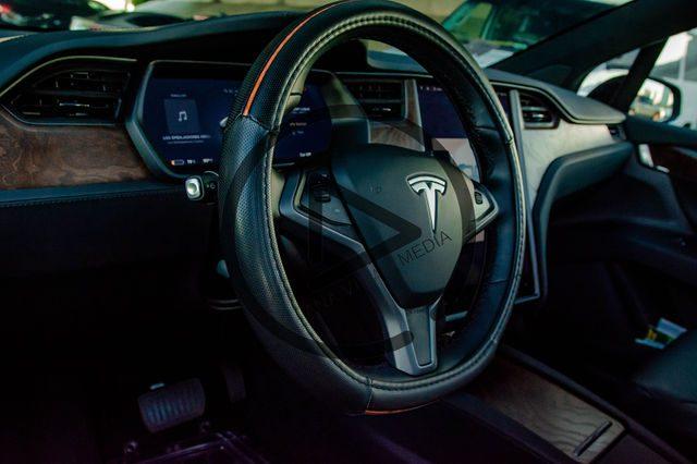 Tesla driver side interior